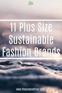 Plus Size Sustainable Fashion